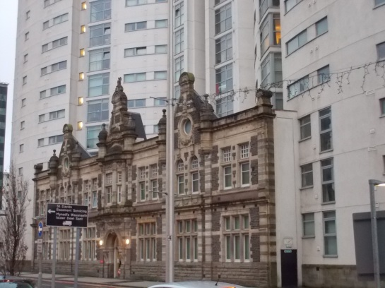 Cardiff building front