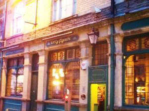 Cardiff pub start of crawl
