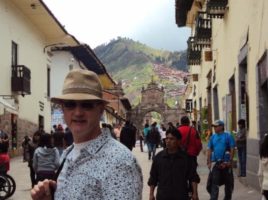 A Street in Cuzco.