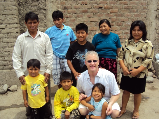 Visiting my foster kids North of Lima.